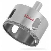 50 мм алмазные сверла отверстие стеклорез нож Серебристый