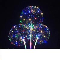 Воздушный светящийся шар с подсветкой на палочке бобо bobo.Светодиодный шар