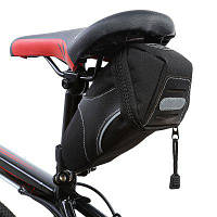 B-SOUL YA130 сумка для велосипедного седла Чёрный