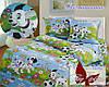 Стеганное полуторное покрывало - одеяло хлопковое Далматинцы