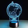 3D лампа-светильник ГЛОБУС