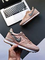 Женские Кроссовки Nike Mid Pink