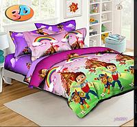 Детский комплект постельного белья 150*220  Ранфорс 100% хлопок