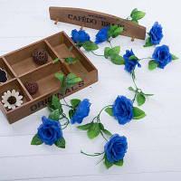 Декоративные Венки Цветы, Лист Винограда Гарланд Синий
