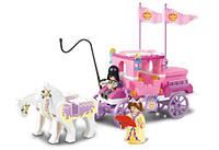 """Конструктор SLUBAN (LEGO) """"Карета принцессы"""" 137 деталей, B 0250"""
