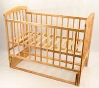 Кроватка детская деревянная маятник №7 Арт.42524