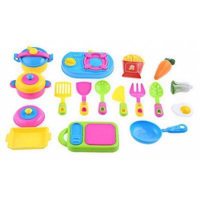 17пк имитации кухня игрушка посуда Цветной - ➊ТопШоп ➠ Товары из Китая с бесплатной доставкой в Украину! в Киеве