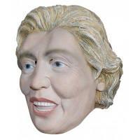 Реалистичная знаменитая женская президентская латексная резиновая маска 41535