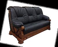 "Классический кожаный диван - ""Кардинал 5030"""