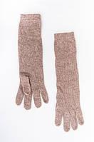 Женские перчатки с длинной манжетой