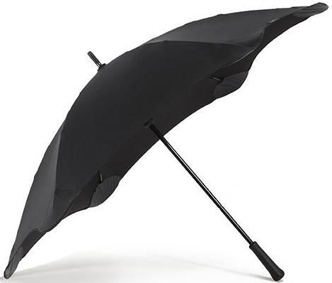 Противоштормовой зонт-трость с большим куполом механический BLUNT (БЛАНТ) Bl-classic-black