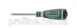 Рукоятка для головок трещоточная с резиновой ручкой L=193 мм Force 8149 F