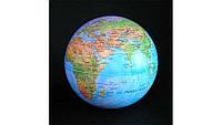Глобус вращающийся круговорот свет, 15 см, 4 цвета