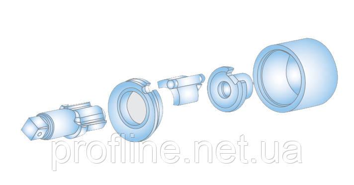 Вал (жало) для пневмогайковерта (82542) Force 82542-43A F, фото 2