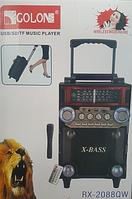 Акустическая система GOLON RX-BT 08 Q, портативная акустика, колонка