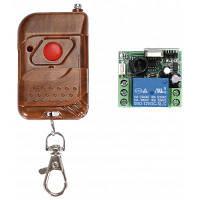 XSC TM31 12V 1CH релейный переключатель приемник и передатчик RF система контроля доступа Коричневый