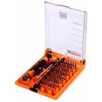 JAKEMY JM-8128 Набор отверток инструменты для ремонта 45 в 1 Черный и оранжевый
