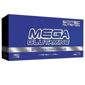 Глютамин Scitec Nutrition Mega Glutamine 120 caps