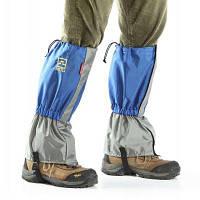 AOTU паре дышащий Анти-носить защитный предохранитель ноги Синий
