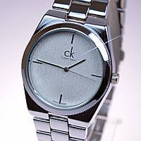 Женские часы CK Silver белый циферблат