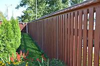Заборы из дерева, фото 1