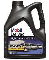 Моторное масло Mobil Delvac LCV 10W40 4L