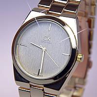 Женские часы CK Gold золотой циферблат