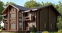 Деревянный дом. Дом из бруса недорого