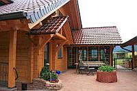 Деревянный дом. Строительство домов из профилированого бруса