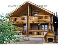 Деревянный дом. Дома из бруса под ключ в Киеве , фото 1