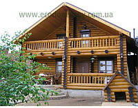 Деревянный дом. Дома из бруса под ключ в Киеве