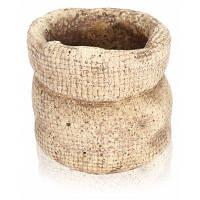 Горшок для цветов и растений в форме мешочка круговой карман стиль размер s