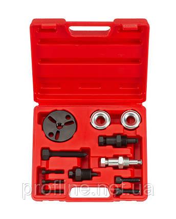 Набор для снятия муфты компрессора кондиционера 12 пр. Force 912G11 F, фото 2