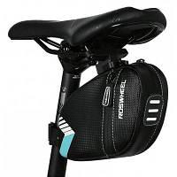 ROSWHEEL велосипедная задняя сумка Чёрный и зелёный