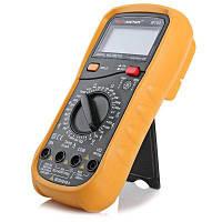 PEAKMETER MY64 Многофункциональный цифровой мультиметр Жёлтый и чёрный