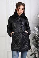 Пальто женское стеганное на синтепоне 150