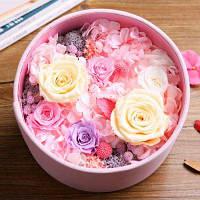 Подарок на день 21Y022 постоянные свежие цветы на День Святого Валентина романтический подарок Цветной