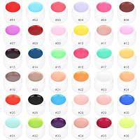 36 Чистых цветов Ультрафиолетовый гель лак для маникюра в баночках для девочек Как на изображении