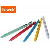 Hewolf 18см колышек для палатки из алюминиевого сплава Случайный Цвет