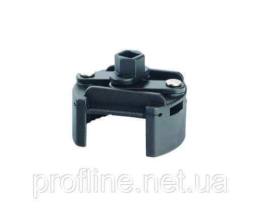 Съемник масляного фильтра самозажимной (двухпозиционный) 80-120 мм Force 9B0703A F, фото 2
