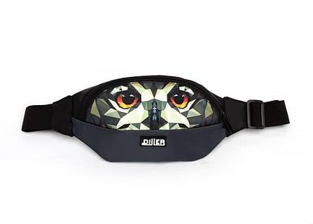 Поясная сумка Graphic Owl, фото 2