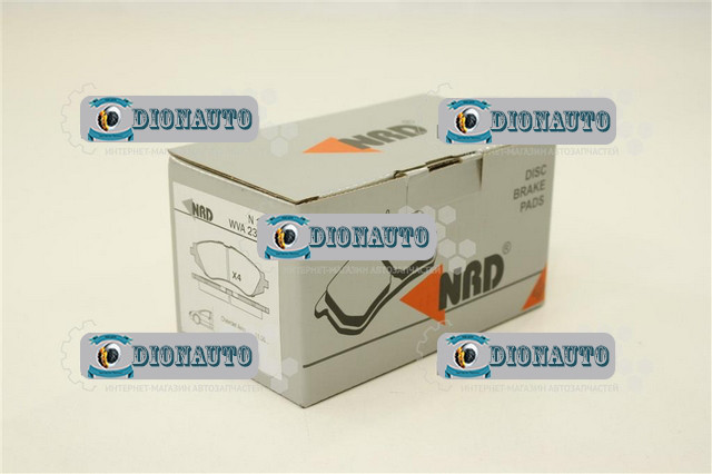 Колодка передняя тормозная Авео NRD к-т Aveo 1.4 16V LT (96534653)