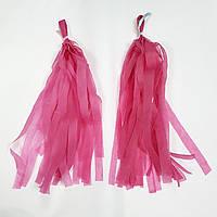 Кисточки 2шт (Тассел) 25-30см, розовые