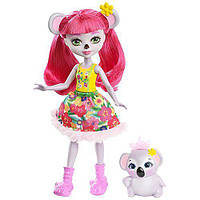 Кукла Энчантималс Коала Карина и Дэб (Enchantimals Karina Koala Doll with Dab)