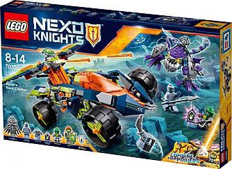 LEGO Nexo Knights Всюдихід Аарона 4x4 Вездеход Аарона 4x4 598 деталей