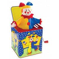 Детская музыкальная шкатулка с забавным клоуном для подарка на день рождения Цветной