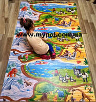 Детский коврик Киндер пол , Мадагаскар, теплый 1,5*1,2 м