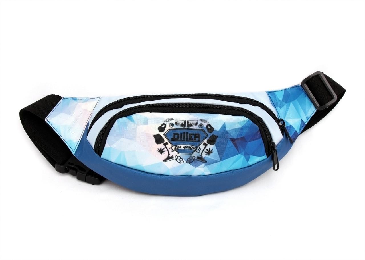 Поясная сумка Light Blue