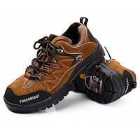 Мужская дышащая обувь для альпинизма с противоскользящим подошвой 43