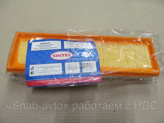 Фильтр воздушный RENAULT (с предфильтром) (производство SINTEC) (арт. SNF-RL002/1-B), AAHZX